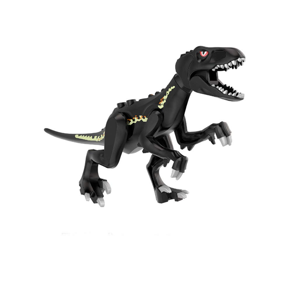 Fiaya Kids New Dinosaur Model DIY Assembled Building Blocks Action Figures Playset Educational Toy Gifts (A-1)