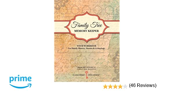 Family Tree Memory Keeper: Your Workbook for Family History ...