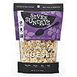 Seven Sundays Muesli – Blueberry Chia Buckwheat – Non-GMO Certified, Gluten Free, Hot or Cold Breakfast Muesli {12 oz. pouches, 1 Count}