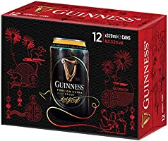 Guinness Foreign Extra Stout CNY Pack,  12 Count