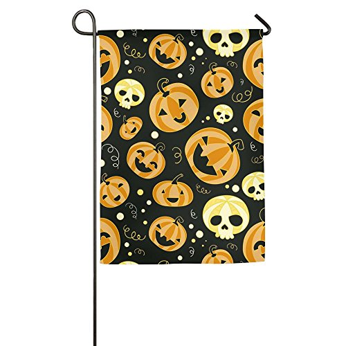 Bright Halloween Pumpkin Season Porch Garden Flags Semi