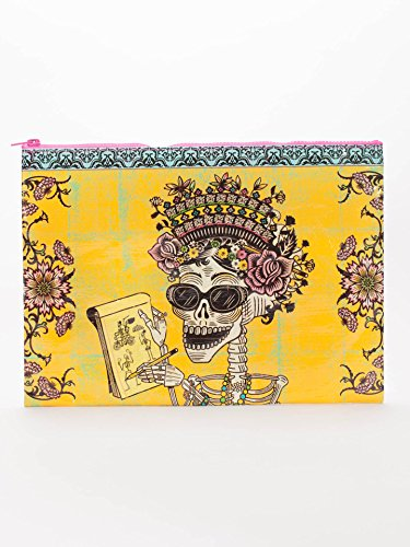 (Blue Q Bags, Jumbo Zipper Pouch, Day of The Dead)