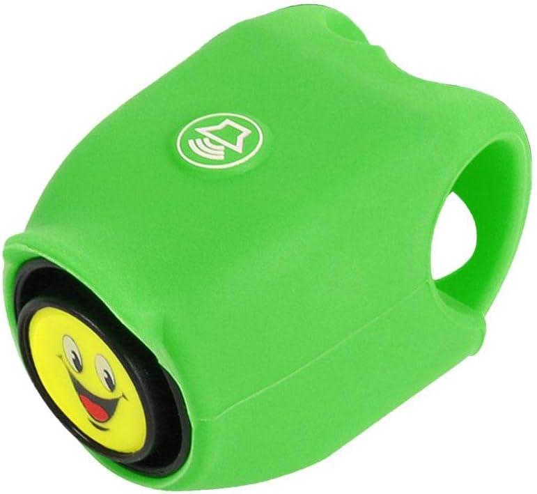 Sunniy 5 Campanello per Bici con Campana Campana per Bici elettrica Chiara e nitida con cella a Bottone Attrezzatura da Bicicletta Impermeabile per la Maggior Parte delle Bici