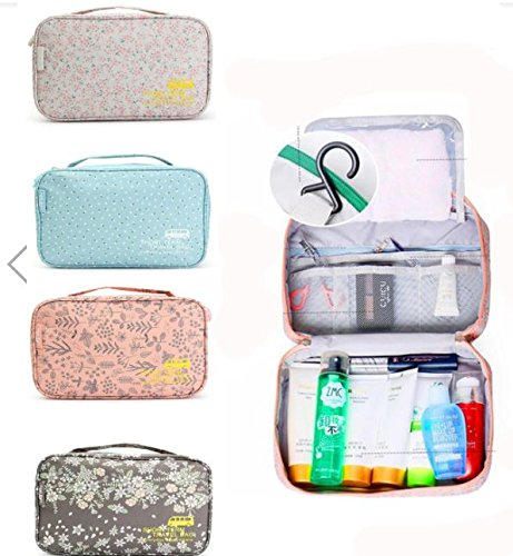 Waterproof Expandabl Travel Hanging Wash Bag Toiletry Ladies Women Make Up Pouch by - Sunglasses V Mac