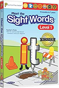 Meet the Sight Words Level 1 DVD