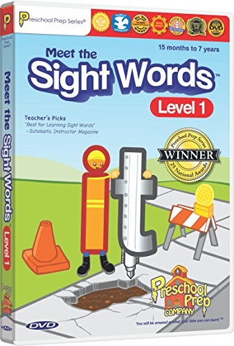 Meet Sight Words Level DVD product image