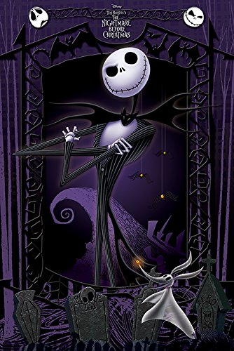 POSTER STOP ONLINE The Nightmare Before Christmas - Movie Poster/Print (It's Jack) (Size: 24