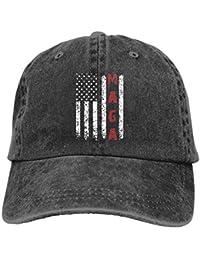 Unisex Make America Great Again MAGA Vintage Adjustable Baseball Cap Denim  Dad Hat faa84d3b710