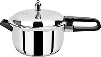 7d2807037 Pristine Induction Base Stainless Steel Pressure Cooker