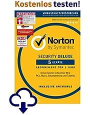 1-monatige kostenfreie Probeabos von Norton Security und Wifi Privacy