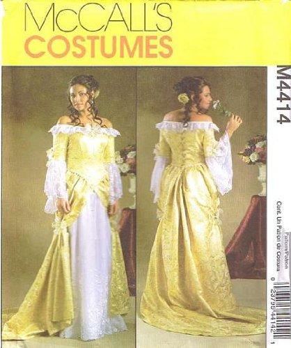 Amazon.com: Renaissance Fantasy Wedding Dress Patterns 6-12: Arts ...