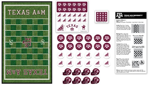 MasterPieces Collegiate Texas A&M Checkers Game