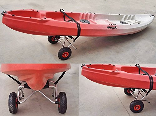 New-75KG-Loading-Capacity-Foldable-Kayak-Trolley-Energy-saving-Two-wheeled-Carrier-Cart-for-Kayak-Canoe-Boat-Ship-from-USA