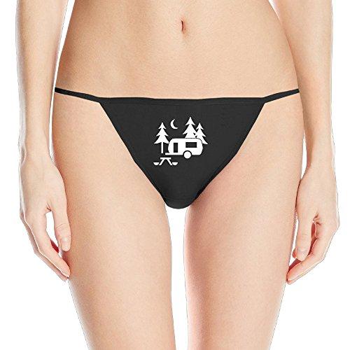 Women's Travel Trailer Sexy Underwear G String Panties