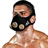 Training Mask [Original, Red, Silver, Gold] Originals Series - Elevation Workout Mask, Cardio and Endurance Mask, Fitness Mask, Breathing Resistance Mask, Running Mask (Gold, Medium)