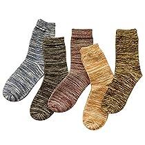 【期間限定セール】【5色・5足セット】FTZero 靴下 メンズ カジュ...