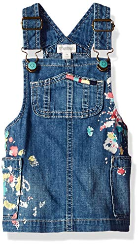 Gymboree Baby Girls Casual Woven Jumper, Denim 3-6 Mo
