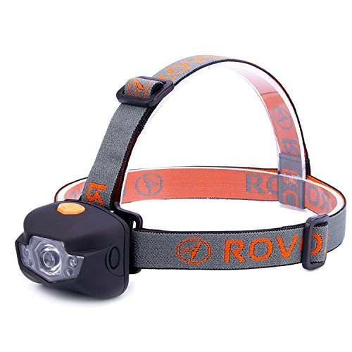 Rovor Martel BuddyBlinder 4 Mode LED Headlamp Flashlight - 150 Lumen Headlamps for Camping by Rovor