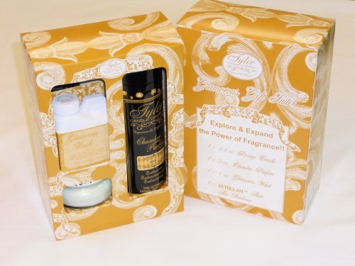 Tyler Candle Fragrance Gift Set, Diva
