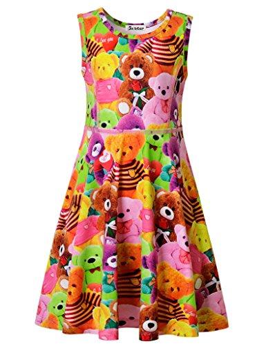 Pink Animal Print Dress - 9