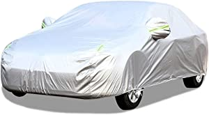 Full Exterior Covers Car Cover Compatible with Alfa Romeo 164 Full Car Cover All Weather Waterproof Protection From Rain Dust Wind Sun UV Indoor Outdoor Auto Protector Automobile Car Cloth