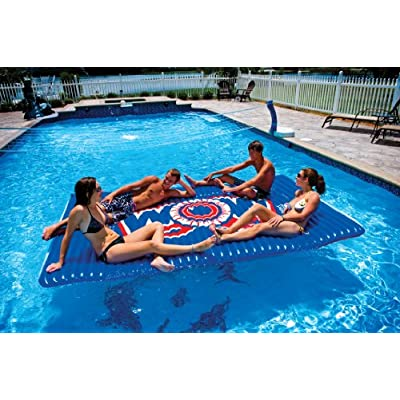 WOW World of Watersports, Inflatable Floating Water Walkway, Blue, 10 x 6 Feet, 1 to 6 People : Sports & Outdoors