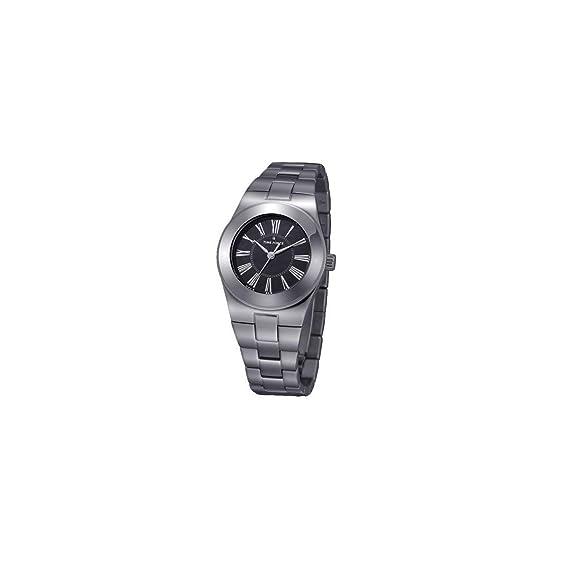 Time Force Reloj analogico para Mujer de Cuarzo con Correa en Acero Inoxidable TF4003L03M: Amazon.es: Relojes