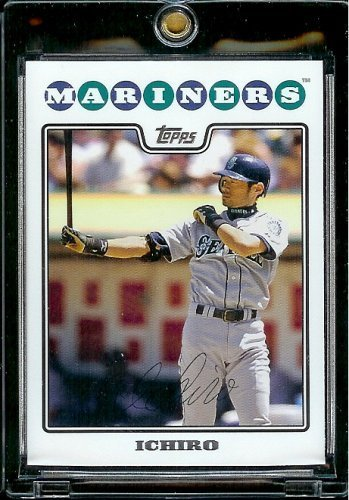 2008 Topps Baseball Cards # 320 Ichiro Suzuki - Seattle Mariners - MLB Baseball Trading Card
