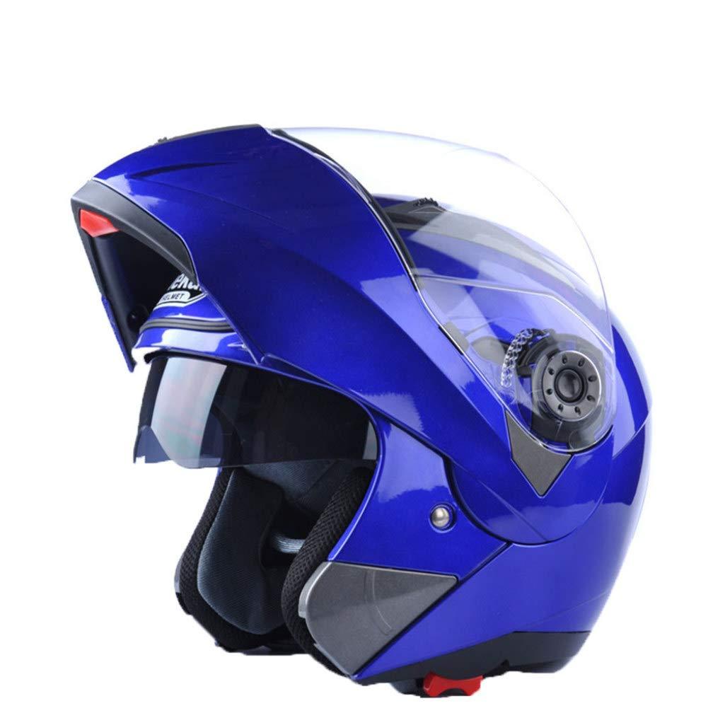 Amazon.es: Casco De Moto Abatible Seguro para Adultos Motocross De ...