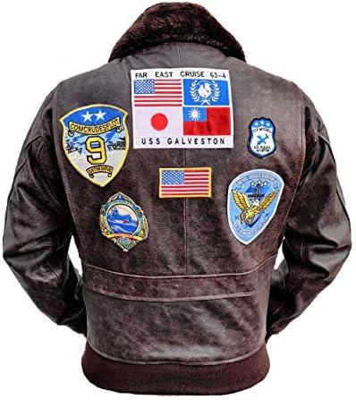 Top Gun Mavericks Flight Jacket, steerhide