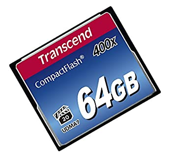 Transcend 64gb Compact Flash Memory Card 400x (Ts64gcf400) 3