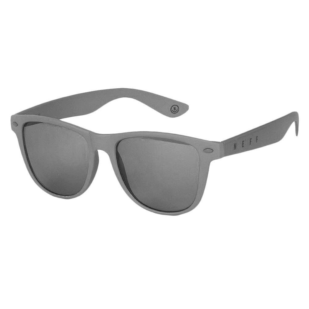 One Size Gloss Charcoal NEFF Mens Daily Shades Unisex Sunglasses with Cloth Pouch