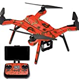 MightySkins Protective Vinyl Skin Decal for 3DR Solo Drone Quadcopter wrap Cover Sticker Skins Nice Rack
