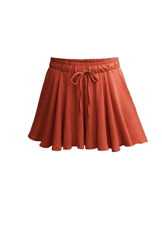 CANDLLY Faldas de Fiestas Playa Vacaciones Guapas Mini Faldas ...