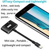 IQIAN Compatible with iPhone X 8 7 6 5 iPad iPod HDMI Adapter Converter, Digital AV Adapter, 2018 Latest Plug and Play 1080P Audio AV Connector (Charging Cable is Included)