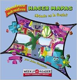 Book Hacer Mapas: ?Donde Es la Fiesta? (Monstruos Matematicos)