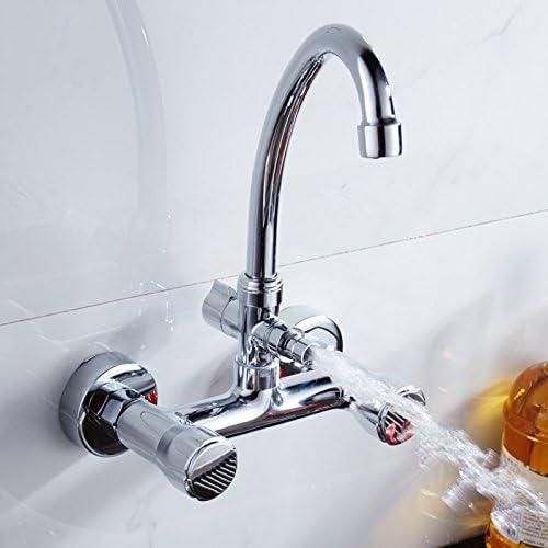 GFEI El cobre en la pared de la agua caliente / fría lavar platos ...