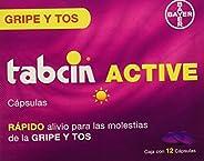 Tabcin Cápsulas Active, 12 Piezas