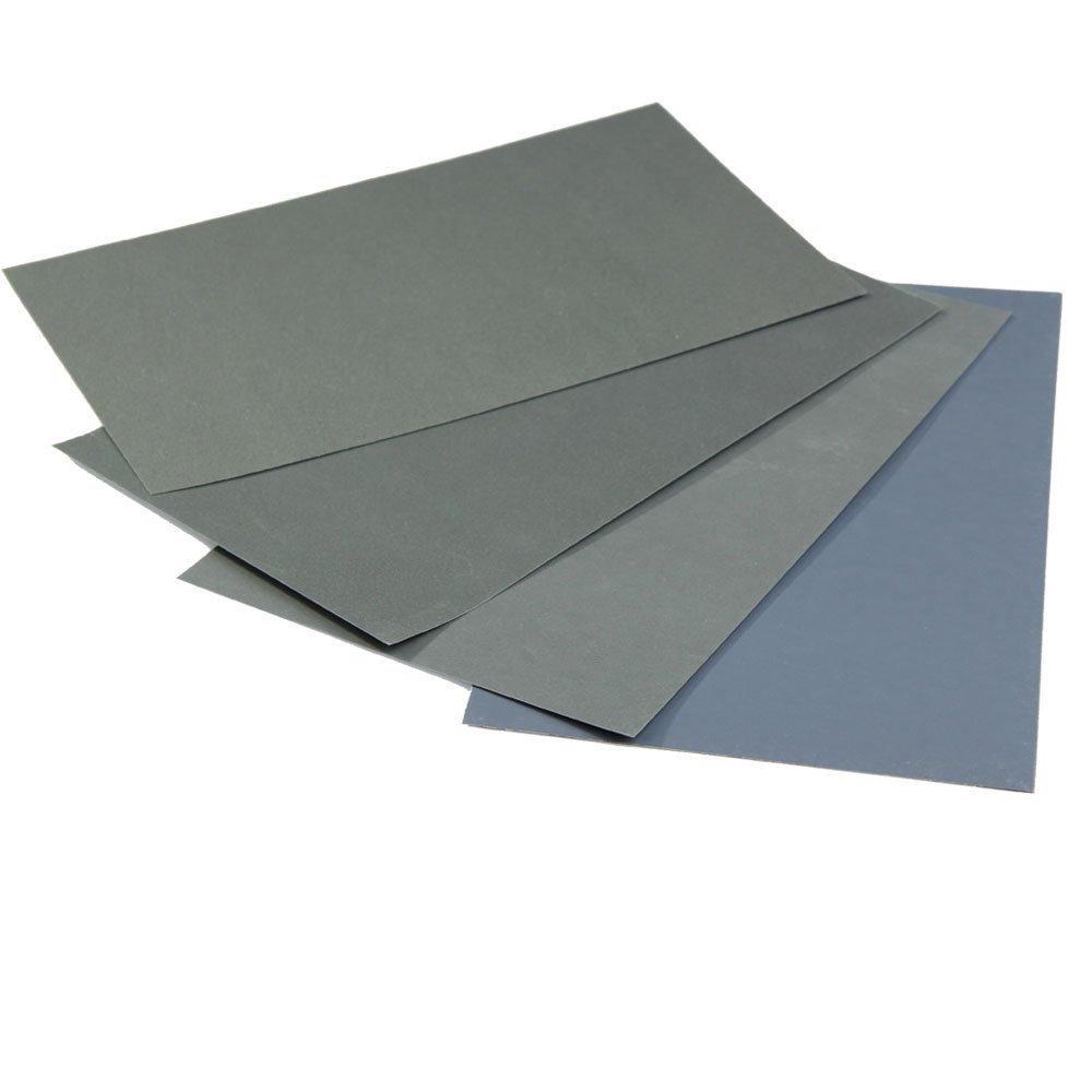 R Waterproof Abrasive Paper 6x Waterproof Abrasive Paper Sand Paper P600//1000//1200//1500//2000//2500 TOOGOO