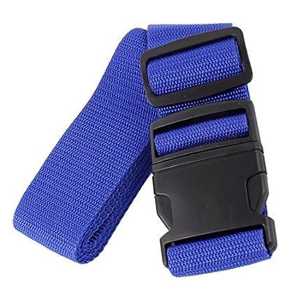 eDealMax el extranjero viajes de negocios de viaje Bolsa Maleta Paquete de equipaje Señor cuerda Azul