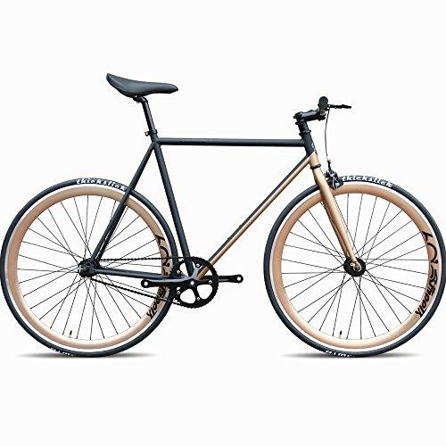 Daiquiri 700c Fixie Bike Urban Track Single Speed Road Bike Fixed Gear Commuter Bicycle D12 V