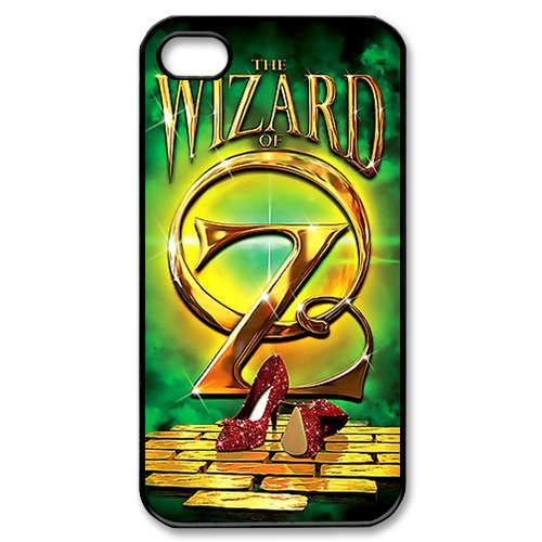 Fayruz- The Wizard of Oz Protective Hard TPU Rubber Cover Case for iPhone 4 / 4S Phone Cases A-i4K261
