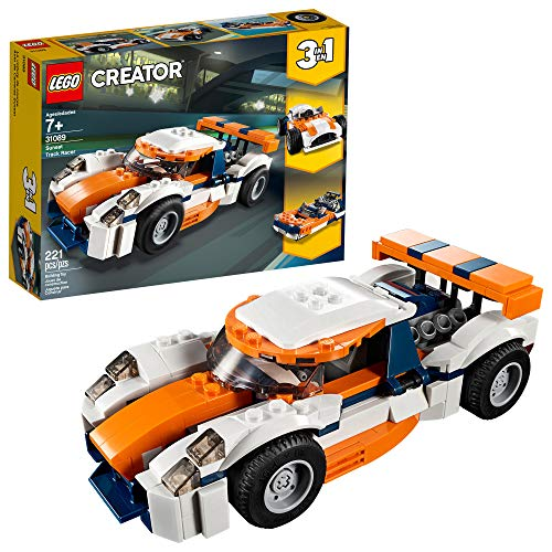 LEGO Creator 3in1 Sunset Track Racer 31089 Building Kit (221 Piece)