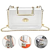 Best Clear Purses - Clear Purse for Women/Girls, Coromay Clear Crossbody Bag Review