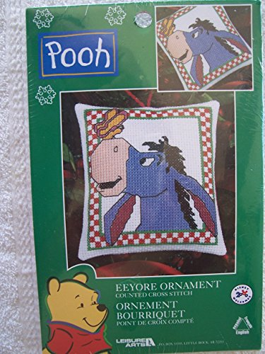 Leisure Arts Eeyore Ornament Counted Cross Stitch Kit