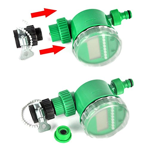 Boruit Diy 25m Auto Drip Irrigation Kit With Timer Plant