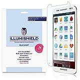 iLLumiShield - Motorola Moto X Pure Edition / Style Screen Protector + (HD) Blue Light UV Filter / Premium Clear Film / Anti-Fingerprint / Anti-Bubble Shield - [2-Pack]& Lifetime Warranty