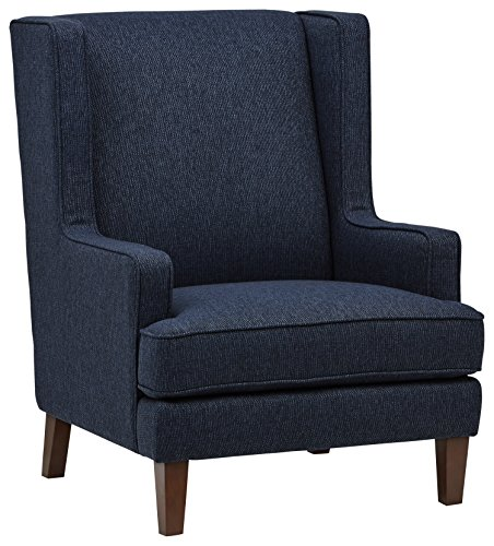 Stone & Beam Highland Modern Living Room Wingback Accent Chair, 32