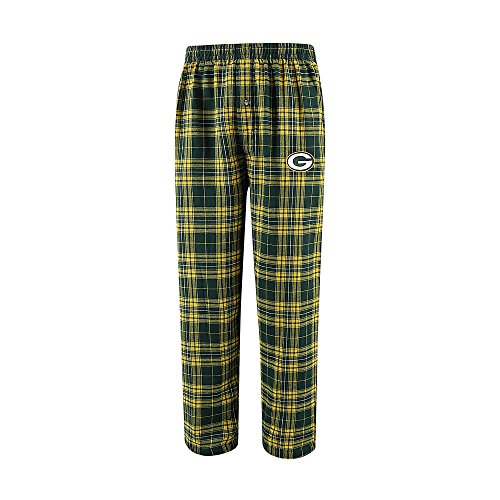 Green Bay Packers Large L Flannel Pajama Sleep Pants - Sleepwear