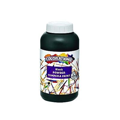 Colorations CPTBK Powder Tempera, Black - 1 lb.: Industrial & Scientific